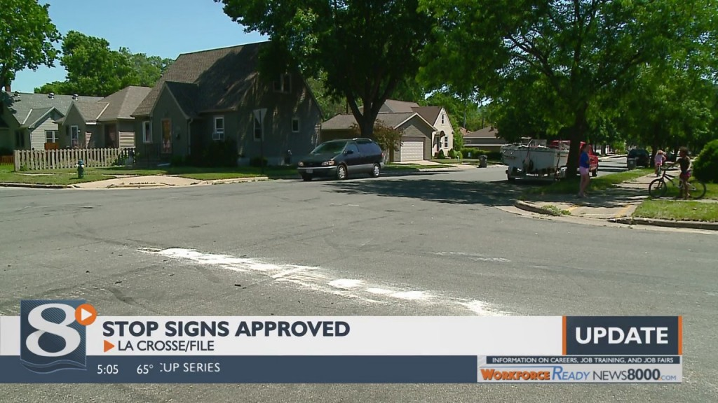 Stop Signs Approved For Jackson And 20th Street Intersection