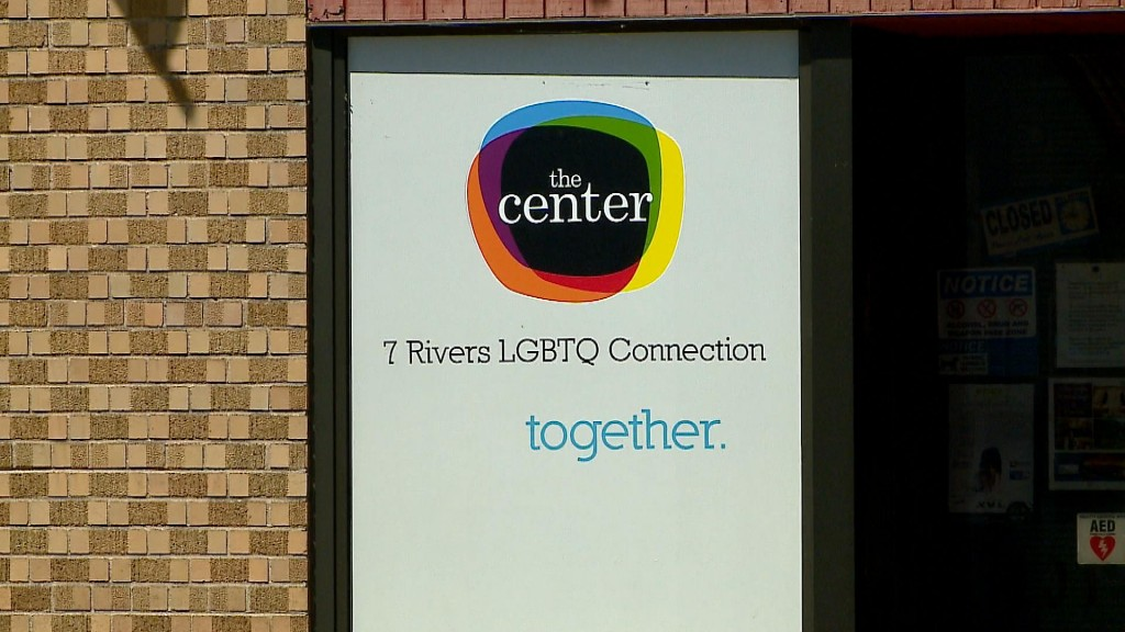 The Center Lgbtq Connection Reopens