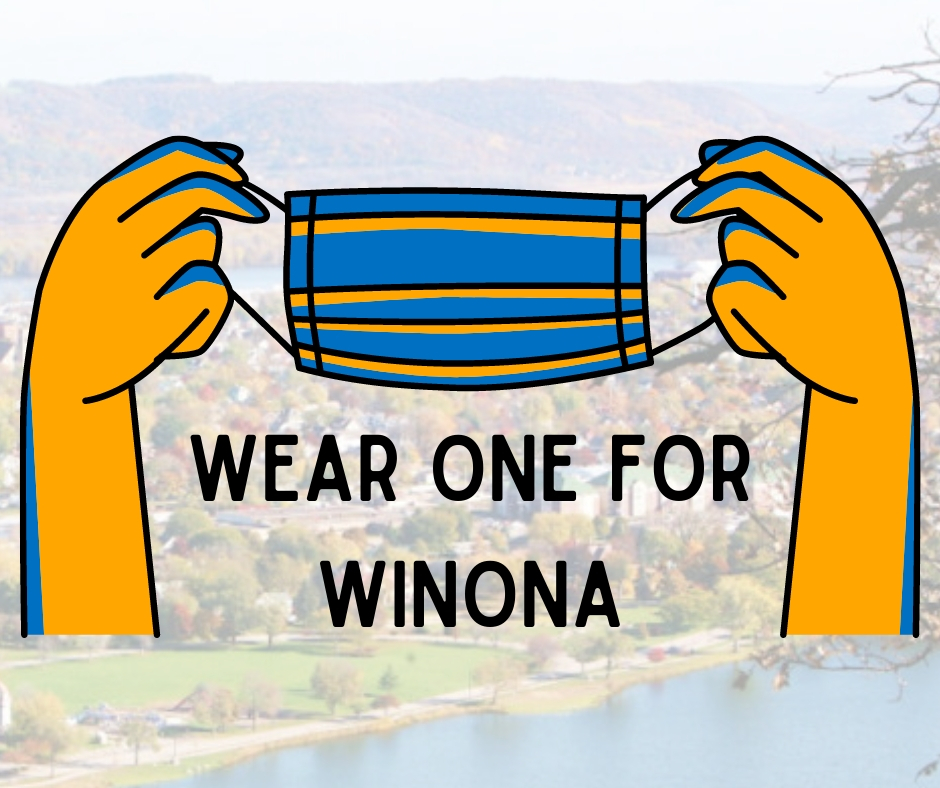 Wear One For Winona Logo With Background
