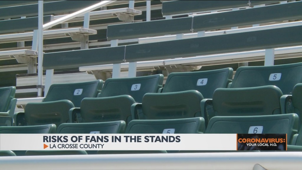 Risks Of Fans In The Stands At Area Sporting Events