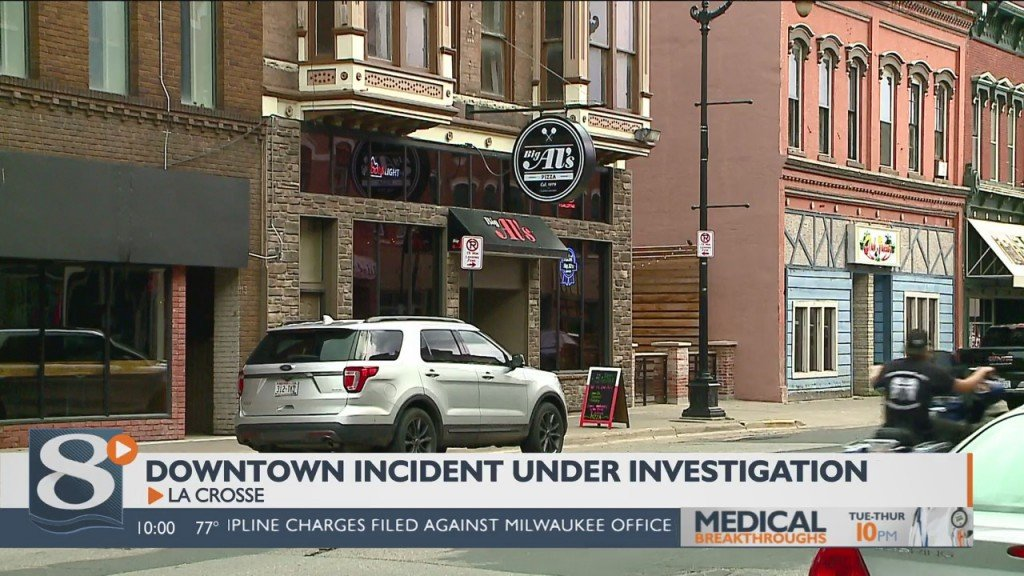La Crosse Police Department Investigating Downtown Incident