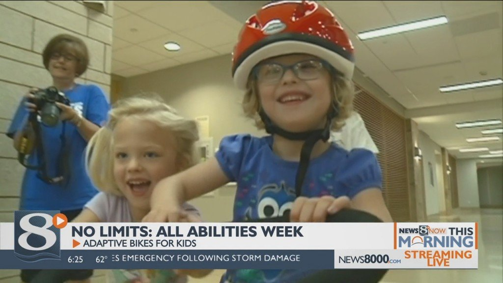 No Limits: All Abilities Week Adaptive Bikes For Kids