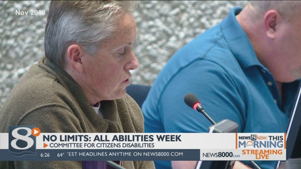 No Limits: All Abilities Week Committee For Citizens' Disabilities