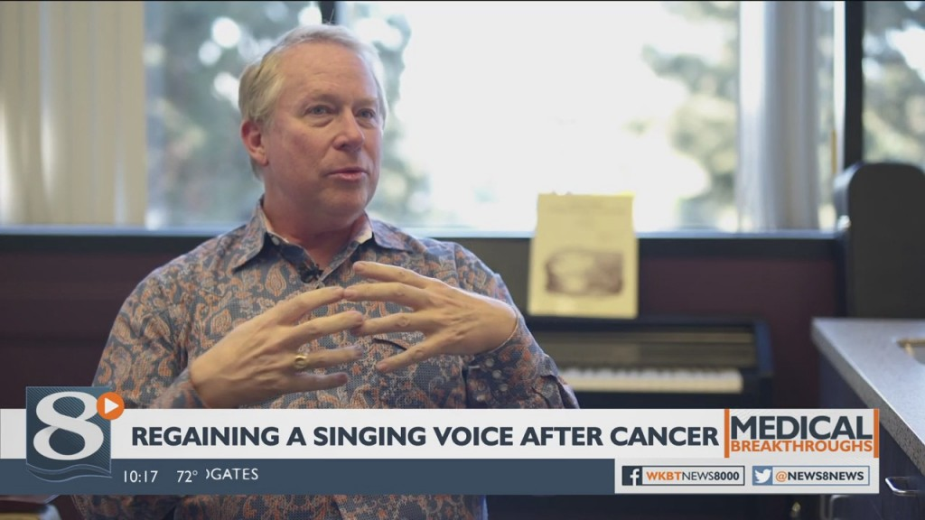 Medical Breakthroughs: Regaining A Singing Voice After Cancer