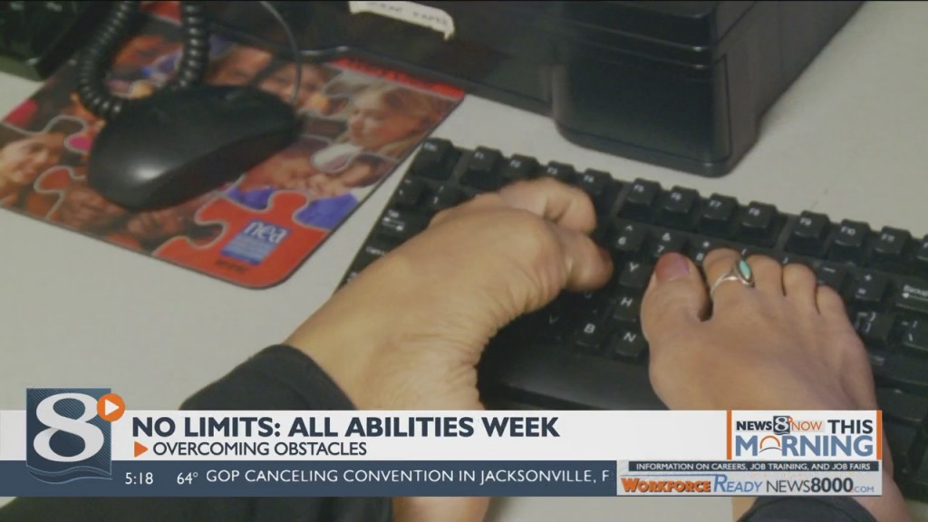 No Limits: All Abilities Week Overcoming Obstacles