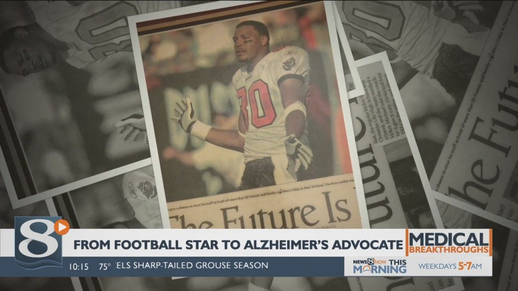 Medical Breakthroughs: From Football Star To Alzheimer's Advocate