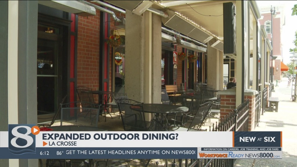 Many La Crosse Businesses Could Be Expanding To More Outdoor Operations