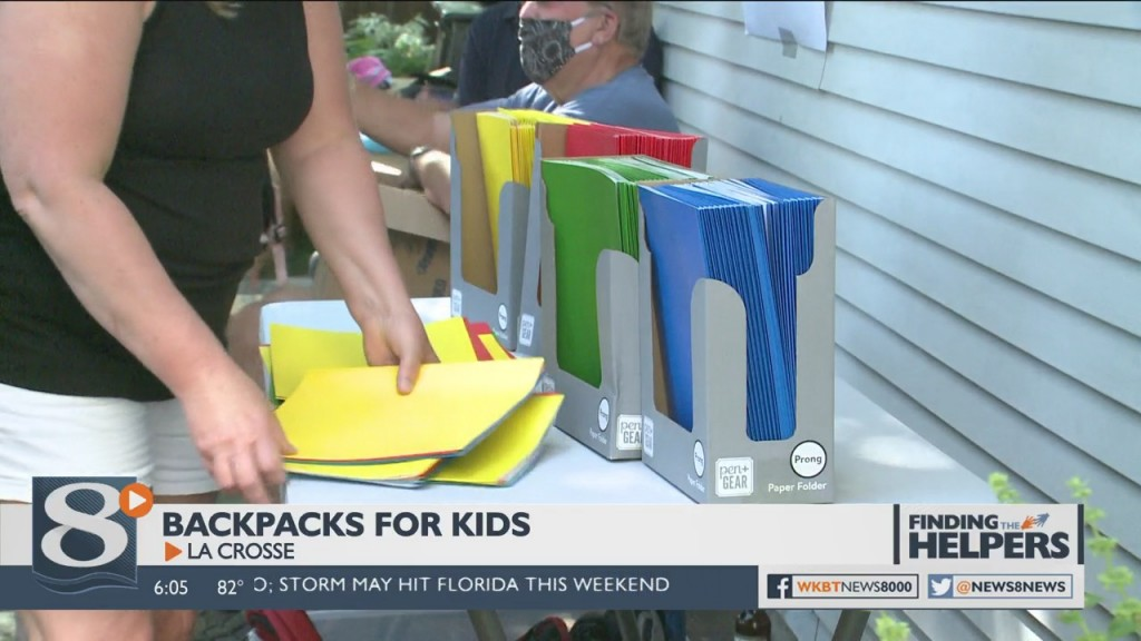 Two Area Rotary Clubs Area Teaming Up To Make Sure Kids Have All The Supplies They Need For Heading Back To School