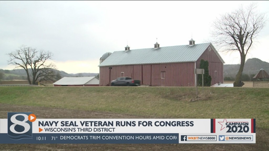 Derrick Van Orden From Hager City Is A Former Navy Seal Running For Ron Kind's Seat In Congress