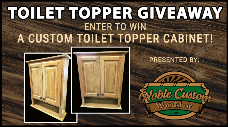 Toilet Topper Giveaway