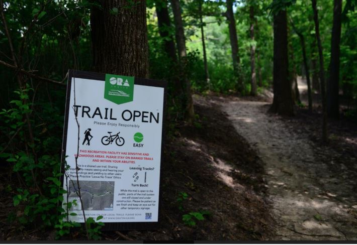 Trail Open