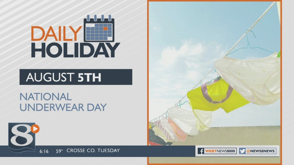 Daily Holiday National Underwear Day