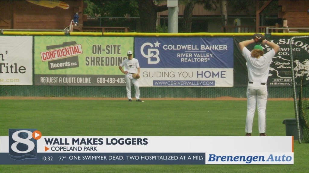 Local Pitcher Nevin Wall Fulfills Dream Playing For Loggers