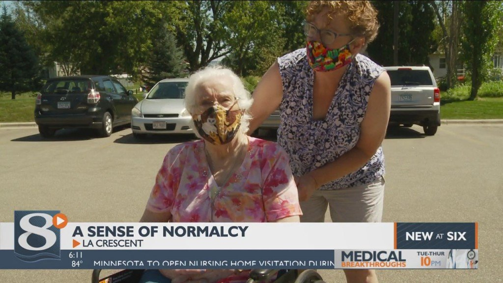La Crescent Assisted Living Facility Allowing Family Members And Friends To See Their Loved Ones In Person