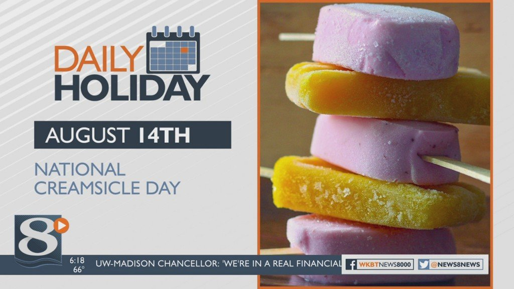 Daily Holiday National Creamsicle Day