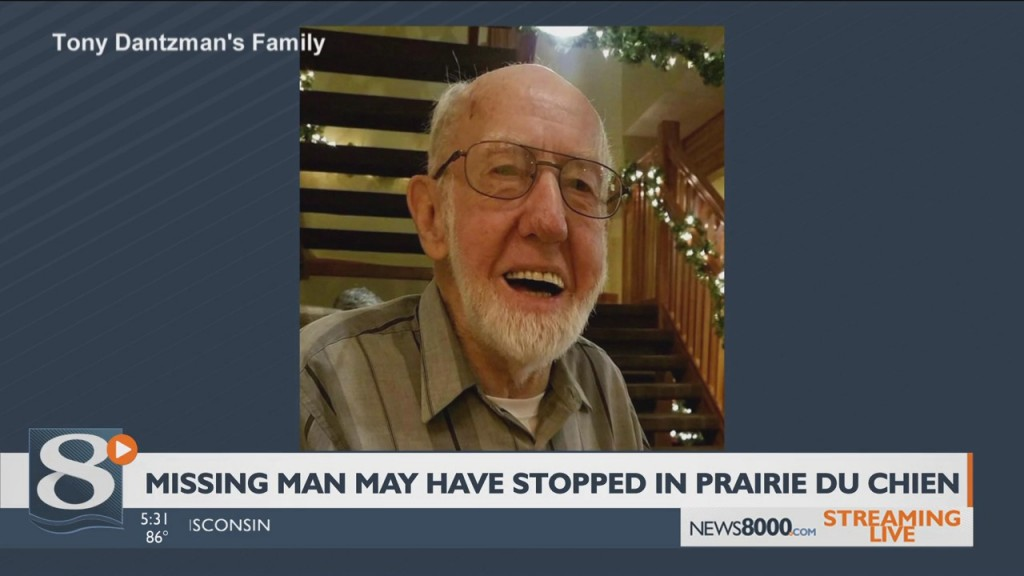 Family Believes Missing Man May Have Stopped In Prairie Du Chien