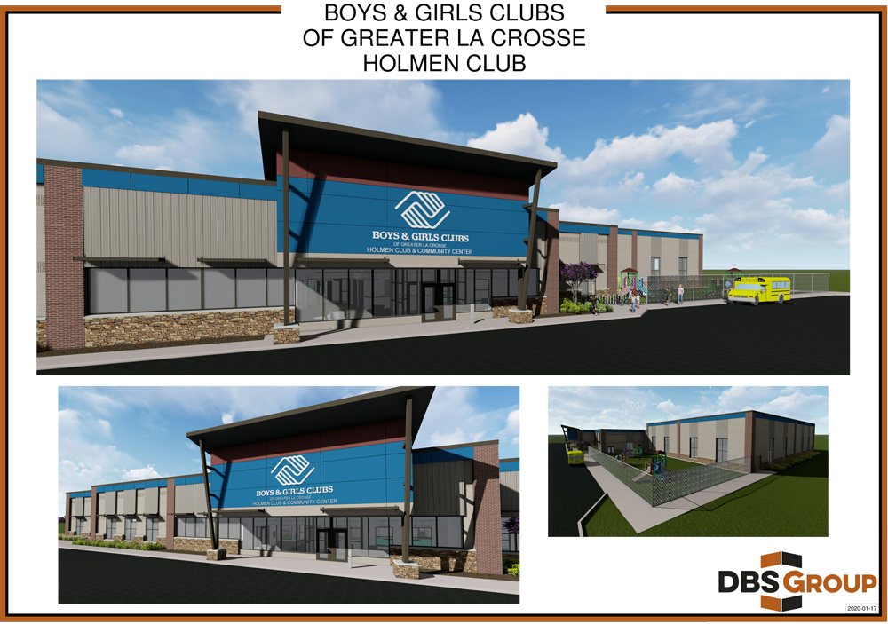 Boys And Girls Club Holmen Wi Renderings 5