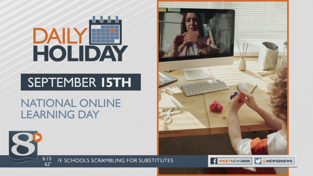 Daily Holiday National Online Learning Day