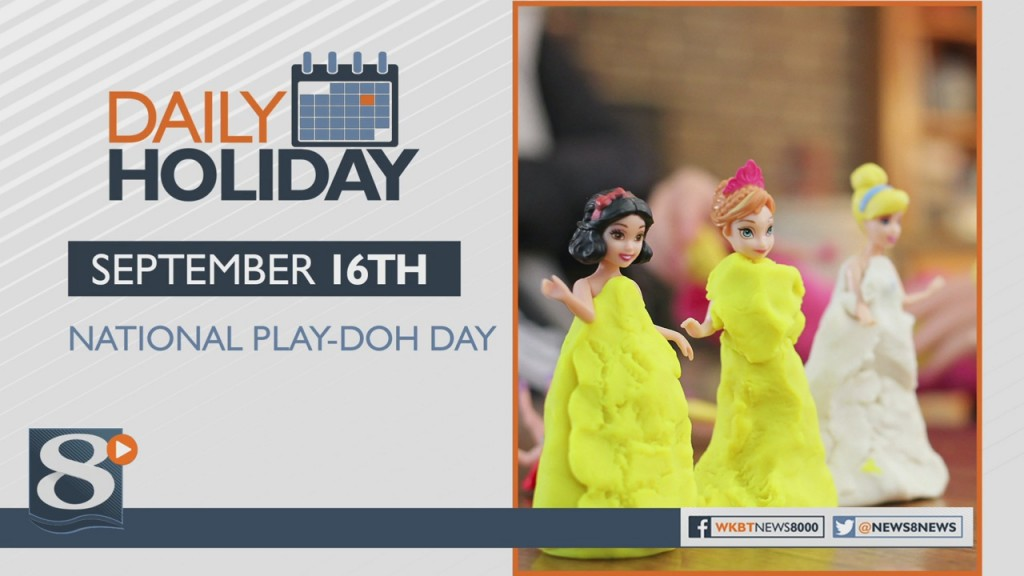 Daily Holiday National Play Doh Day