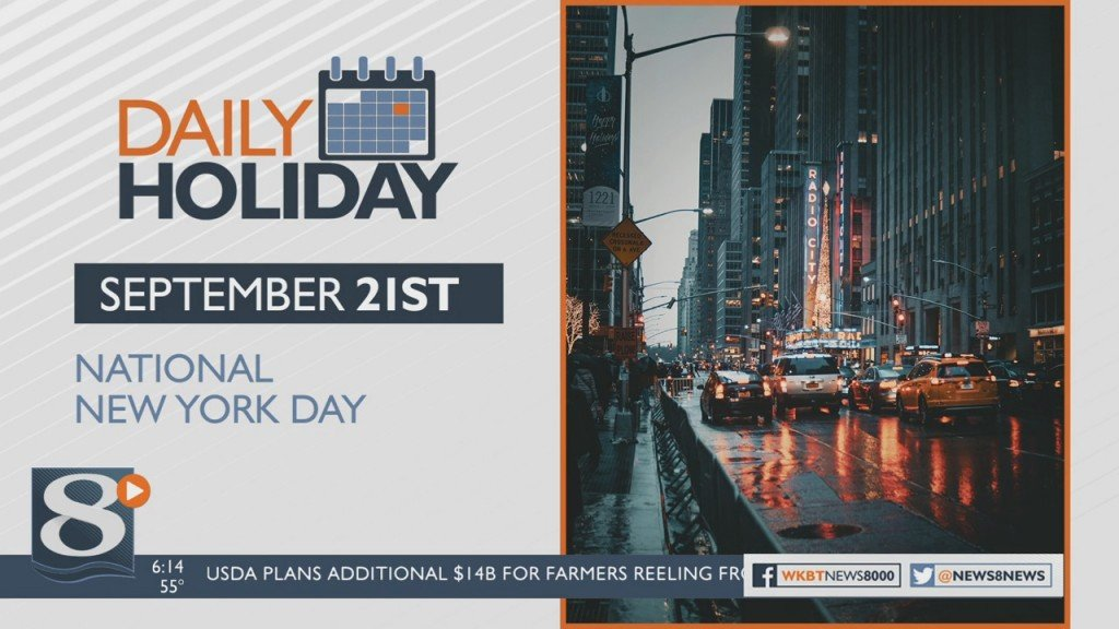 Daily Holiday National New York Day