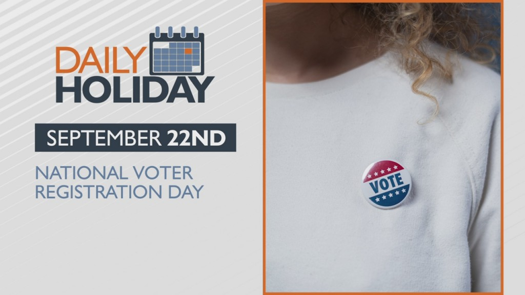 Daily Holiday National Voter Registration Day