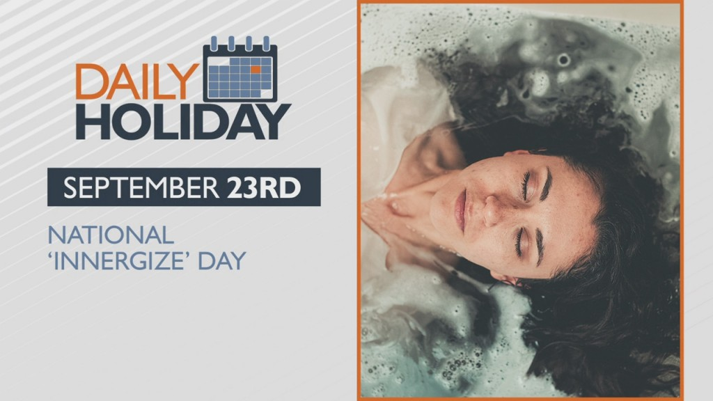 Daily Holiday National 'innergize' Day