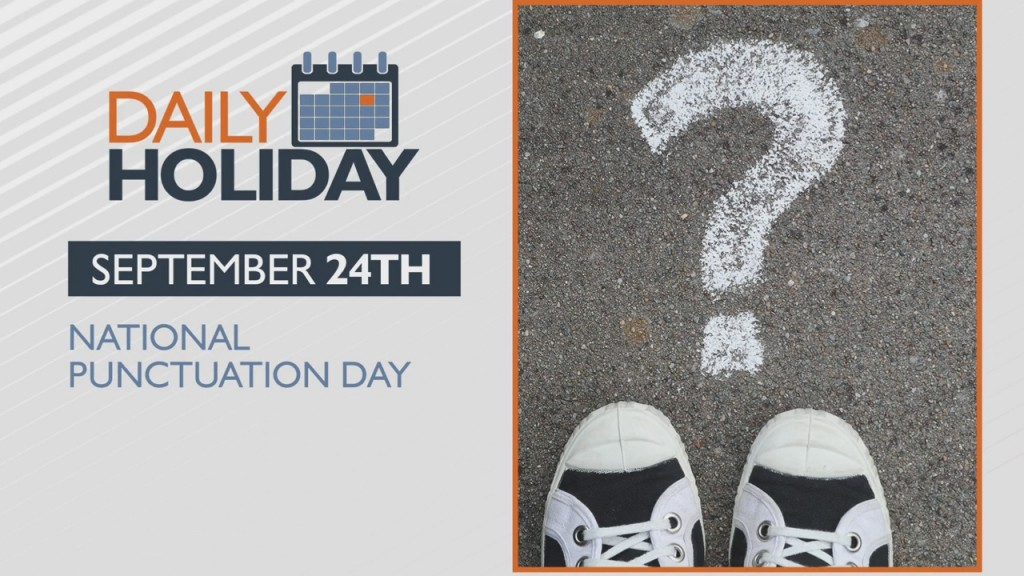 Daily Holiday National Punctuation Day