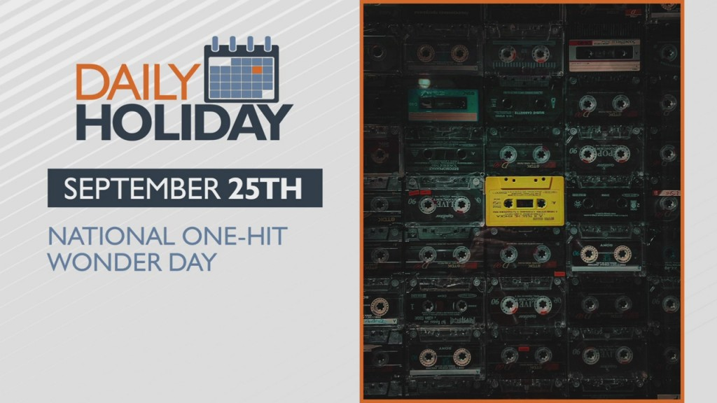Daily Holiday National One Hit Wonder Day
