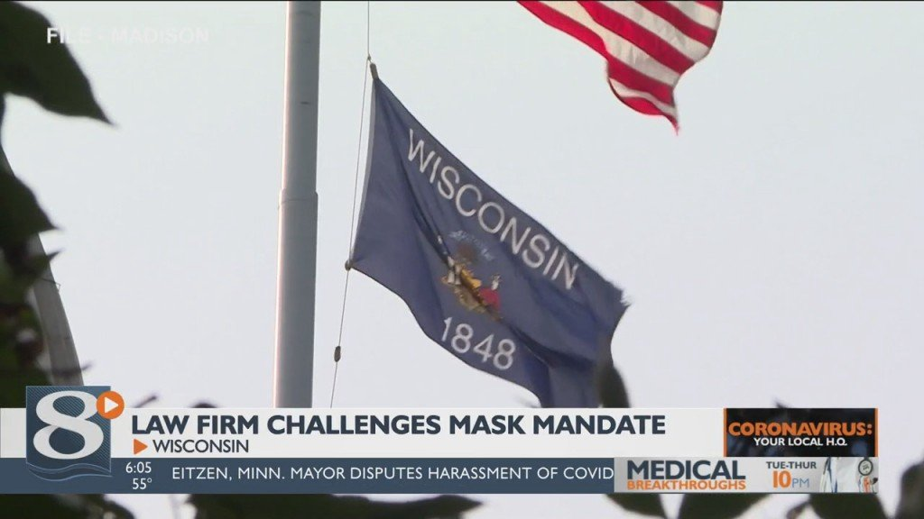 The Battle Over Wisconsin's Mask Mandate Continues