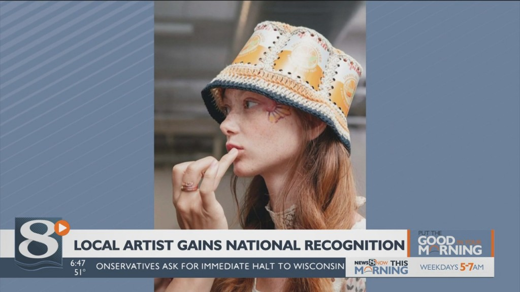 Put The Good In Your Morning Local Artist Gains National Recognition