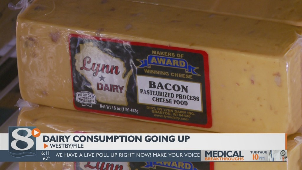 Increase In Dairy Consumption Benefiting Local Production