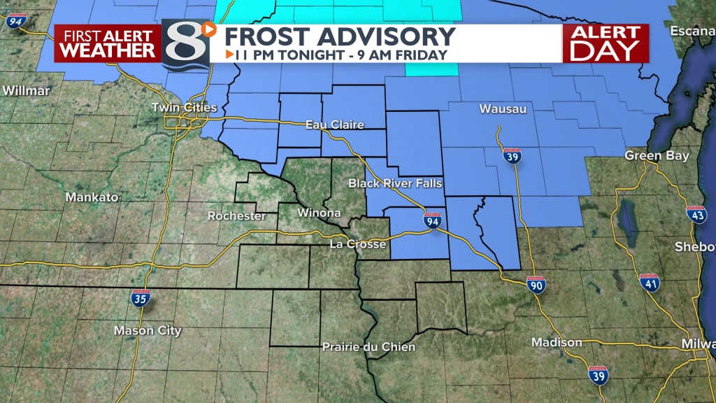 Frost Advisory Tonight