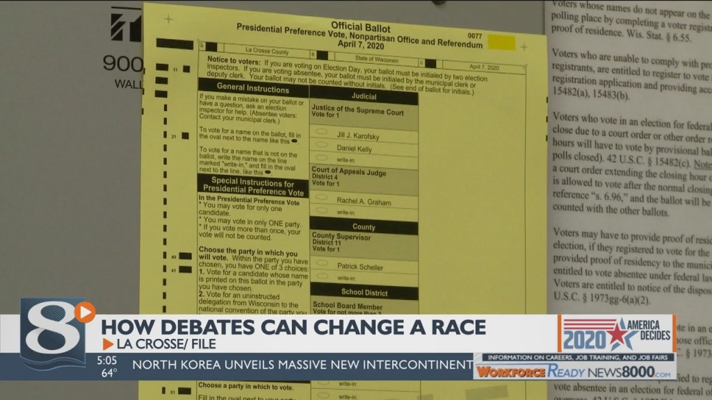 How Debates Can Change A Race