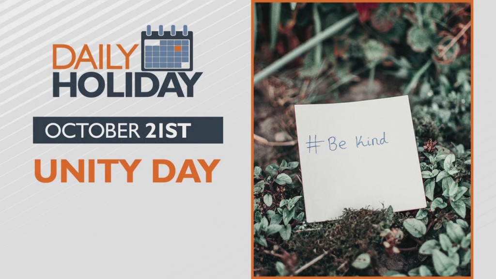 Daily Holiday Unity Day