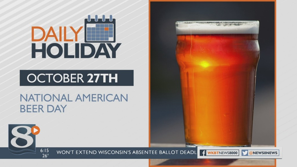 Daily Holiday National American Beer Day