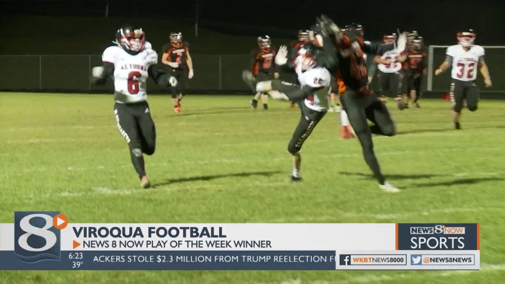 Oct. 29 Play Of The Week Winner Viroqua Football