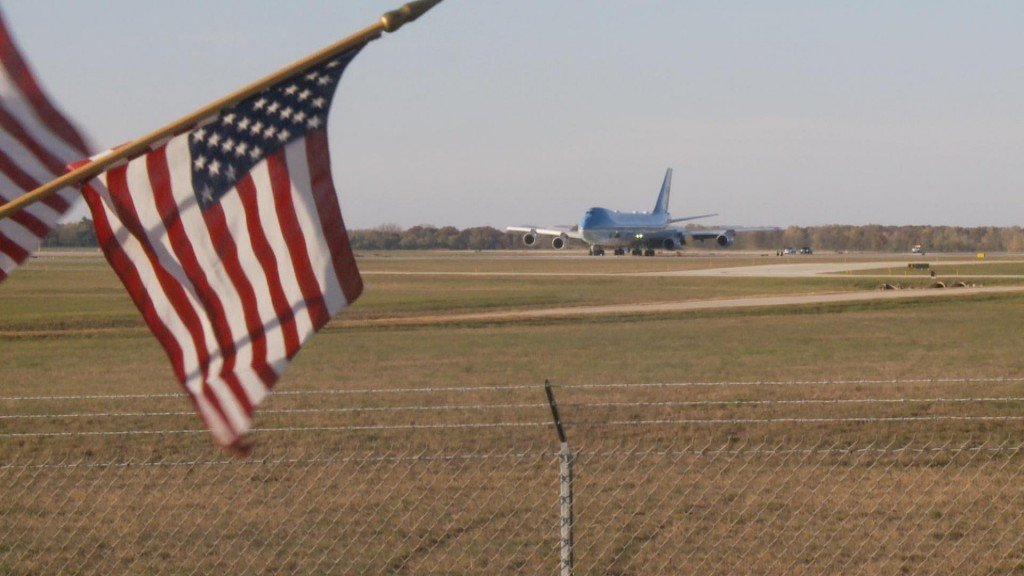 Air Force One In La Crosse