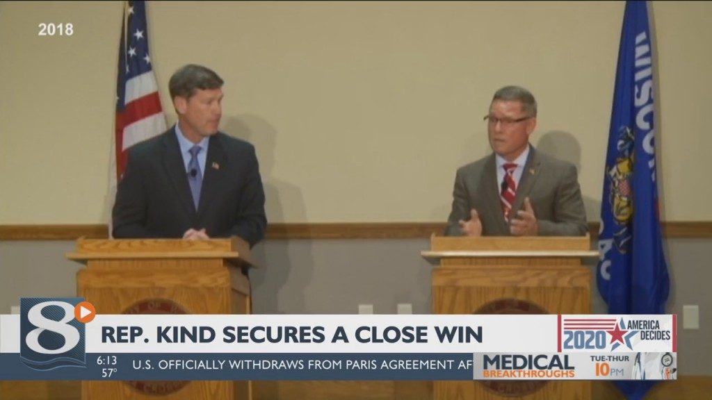 Kind Issues Victory Statement In Tight 3rd District Contest With Van Orden