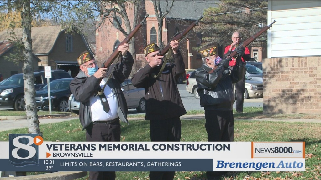 New Veterans Memorial To Be Placed Outside Of Brownsville Community Center