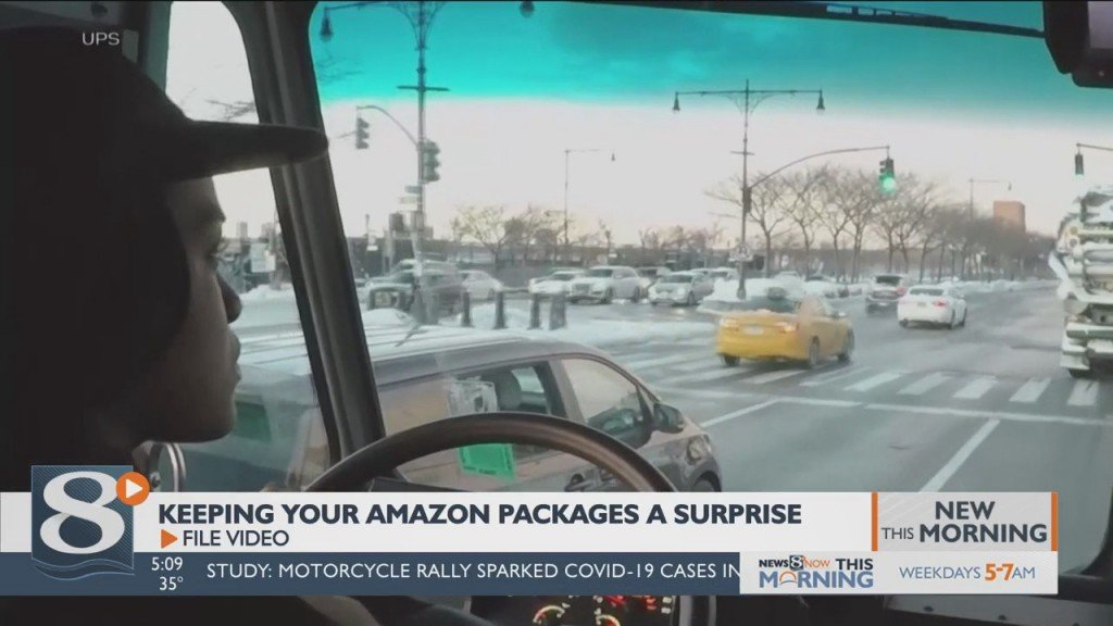 Keeping Your Amazon Packages A Surprise