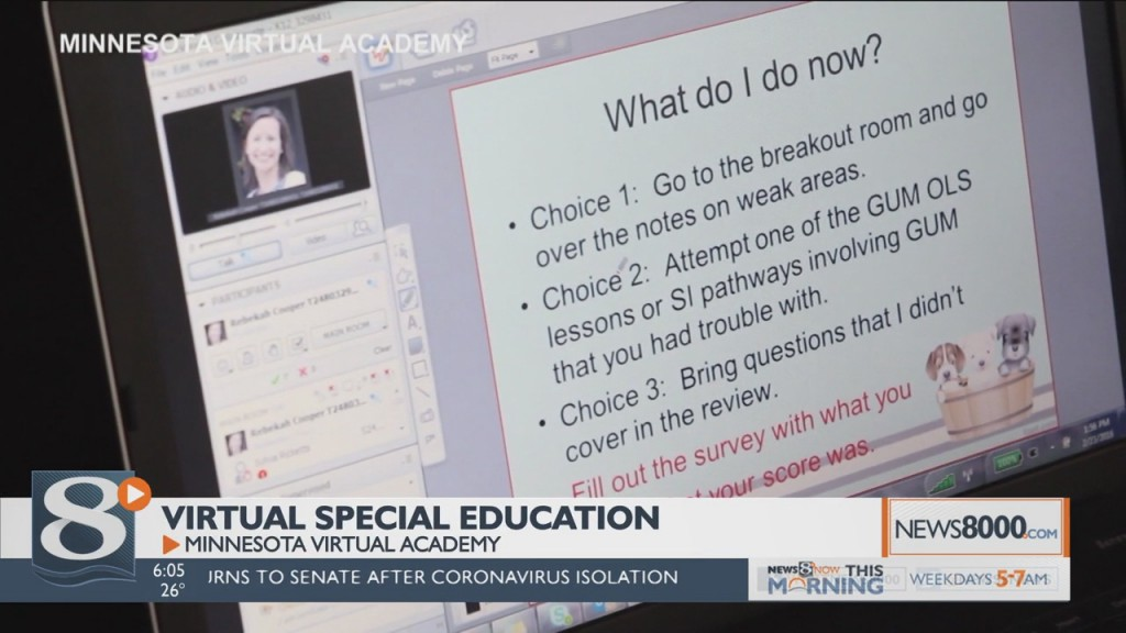 Special Education Students Adjust To Online Learning With Minnesota Virtual Academy