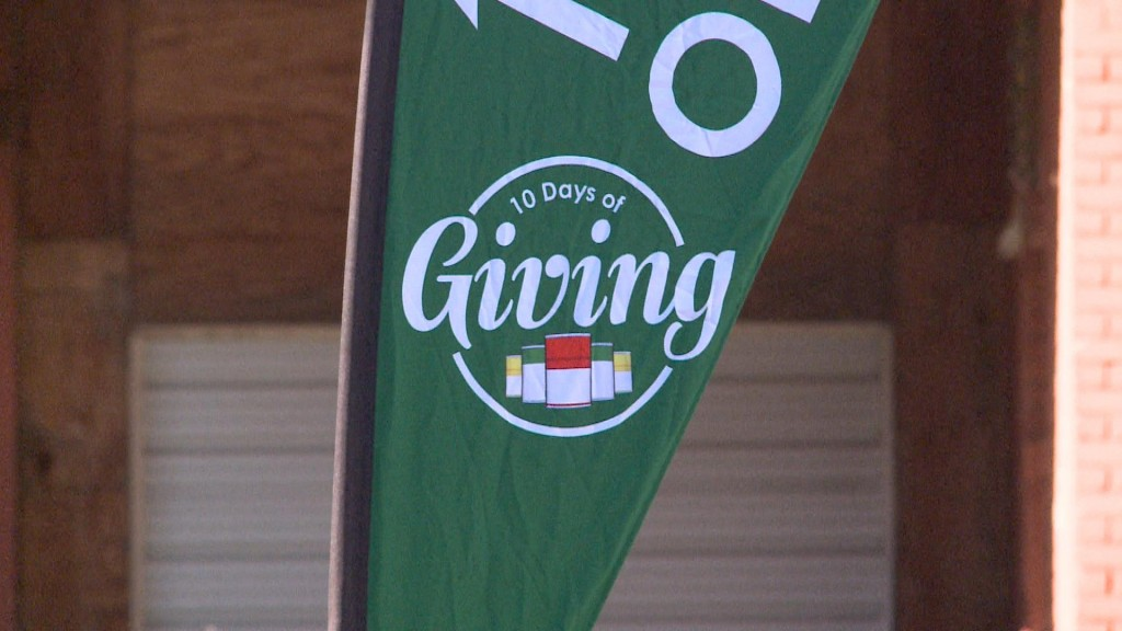 10 Days Of Giving Kickoff