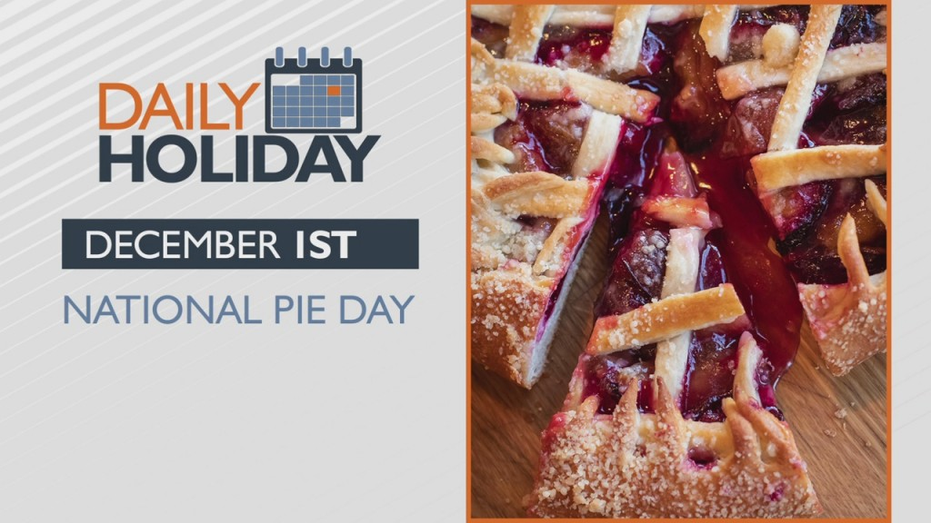 Daily Holiday National Pie Day