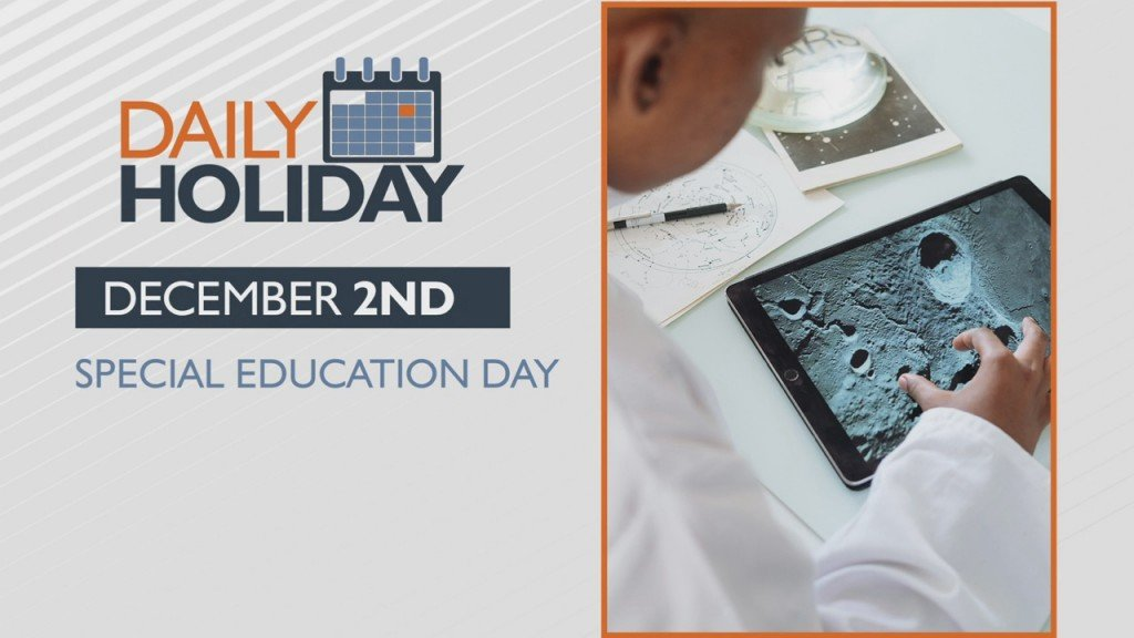 Daily Holiday Special Education Day