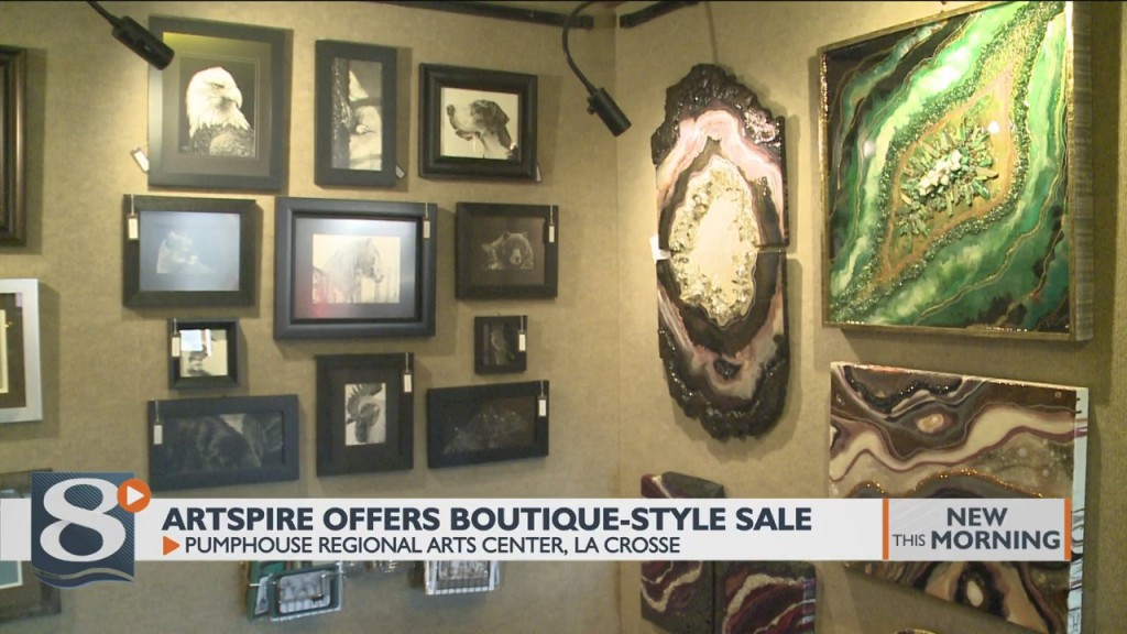 Artspire Offers Boutique Style Sale At The Pumphouse