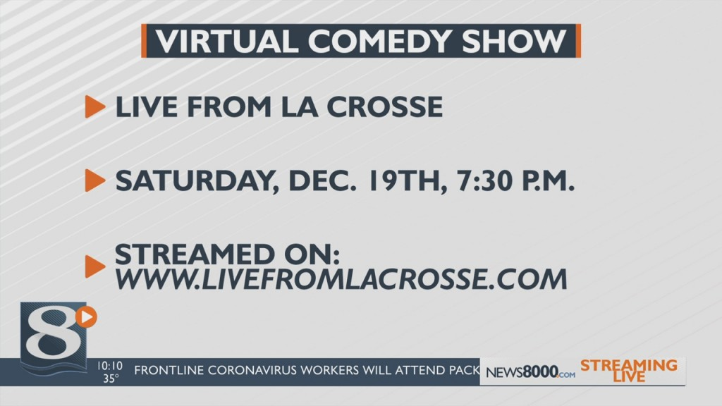 Virtual Comedy Show Happening On Saturday