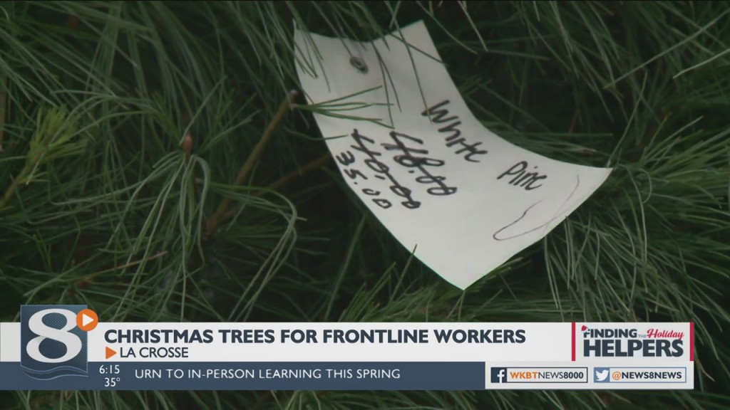 Christmas Trees Donated To Frontline Workers