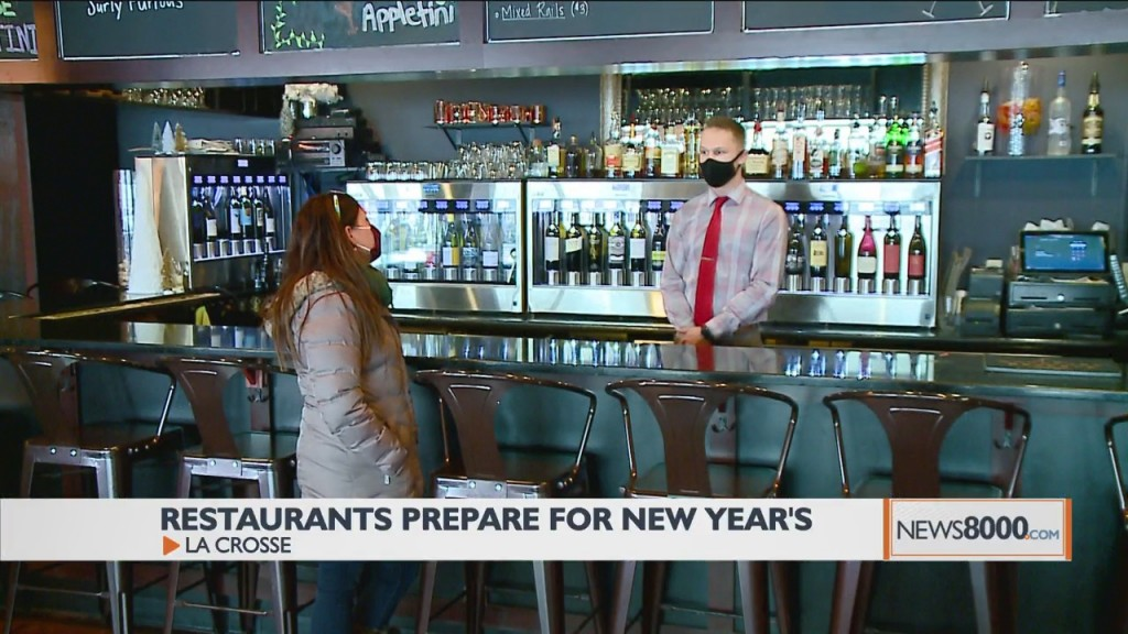 Restaurants Prepare For A Smaller New Year's Celebration