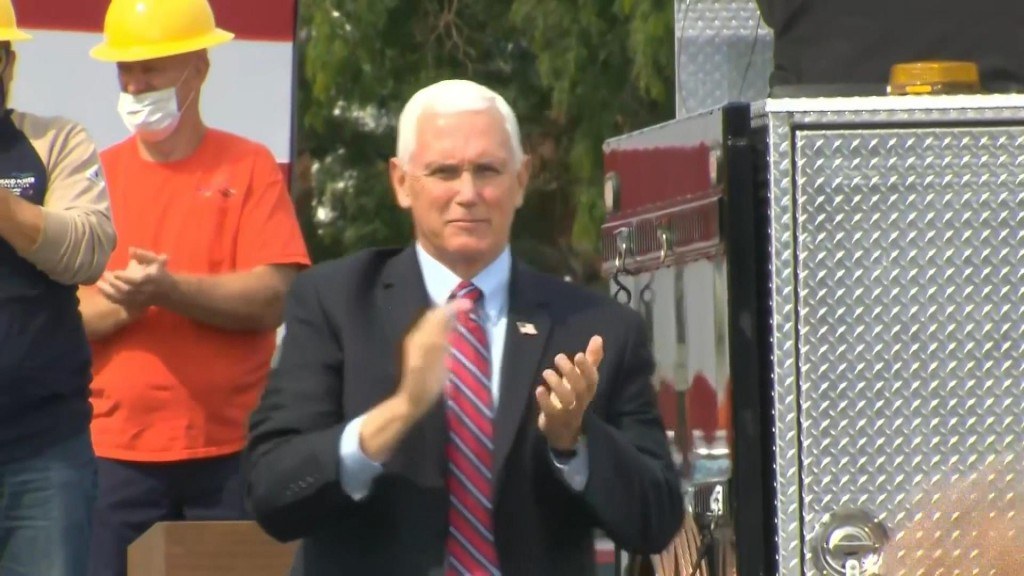 Pence Visit Paid