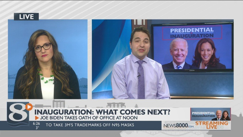 Inauguration Day On News 8 Now This Morning: What Comes Next?
